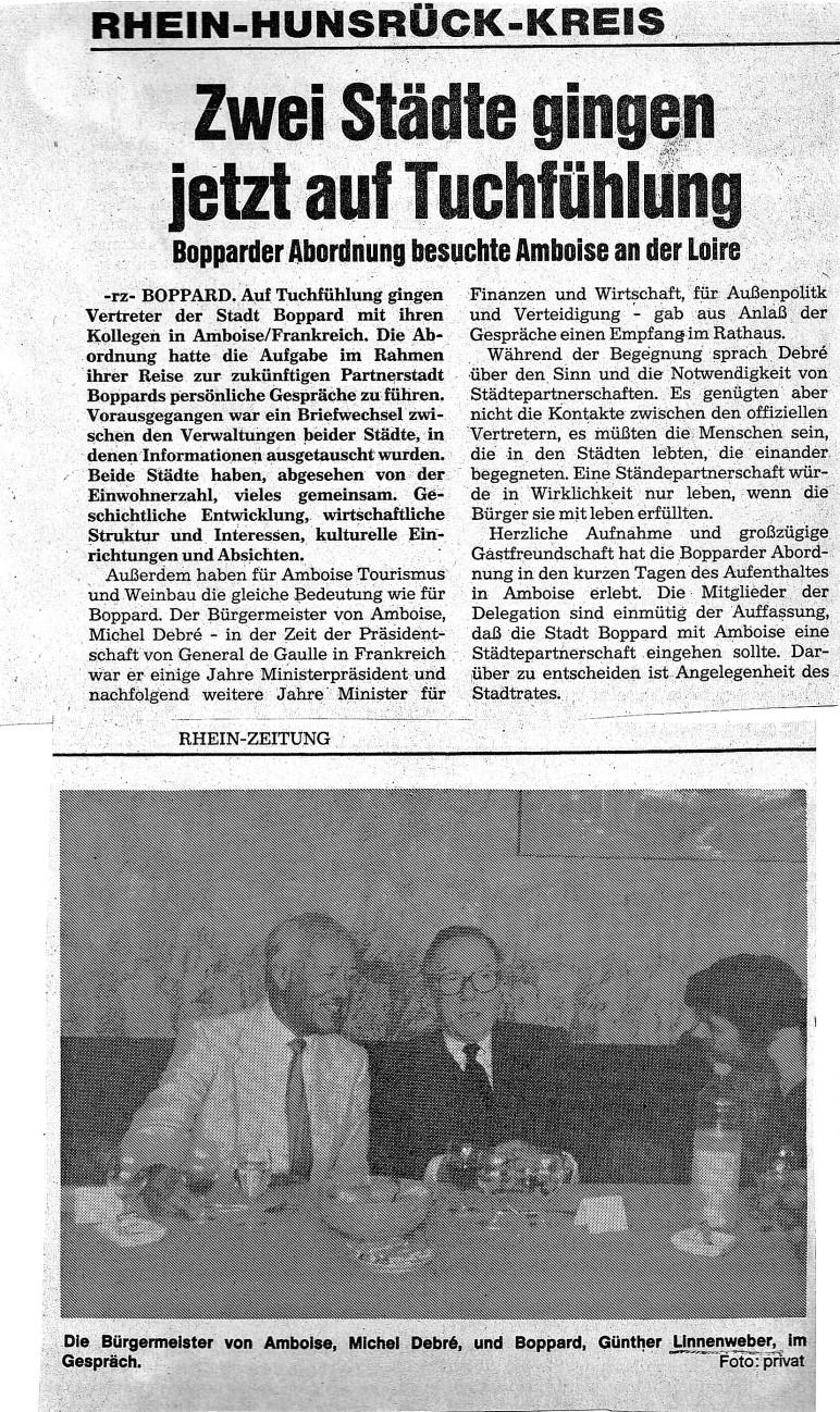 Boppard-Amboise-Geschichte-10.Mai 1984