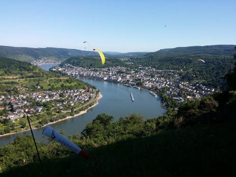 Die Aussicht über Boppard von Gedeonseck
