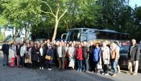 Gruppenfoto beim Abschied, 13.05.2018